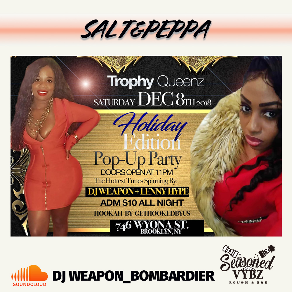 free mix salt peppa live at holiday edition pop up party dj