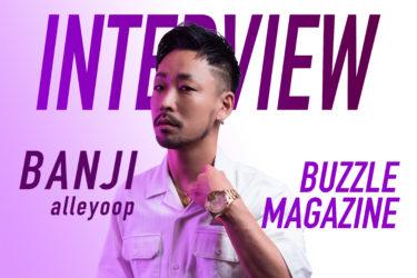 【インタビュー】BANJI|自主レーベルParallel Musicから初のEP「alleyoop」をリリース